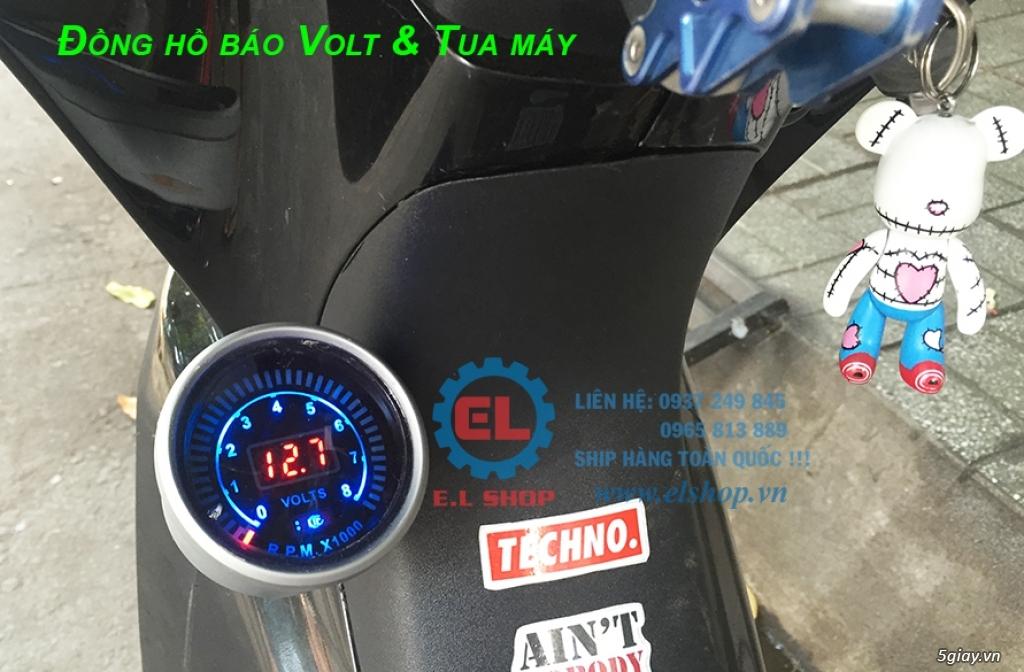 E.L SHOP - Đồng hồ điện tử cho xe máy, Koso, RX2N,... - 44