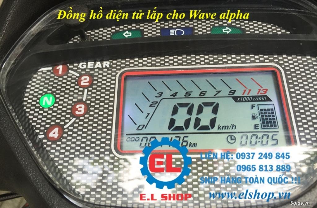 E.L SHOP - Đồng hồ điện tử cho xe máy, Koso, RX2N,... - 34