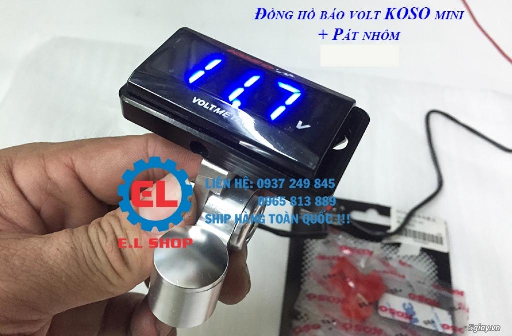 E.L SHOP - Đồng hồ điện tử cho xe máy, Koso, RX2N,... - 39