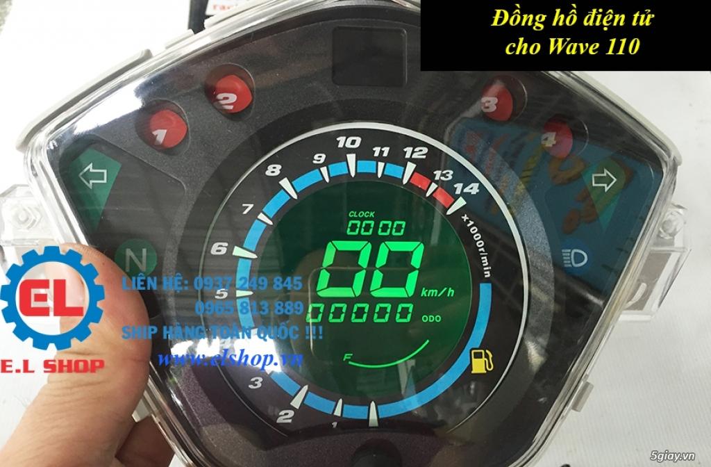 E.L SHOP - Đồng hồ điện tử cho xe máy, Koso, RX2N,... - 30