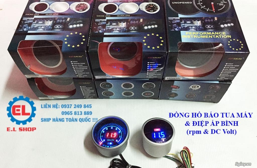 E.L SHOP - Đồng hồ điện tử cho xe máy, Koso, RX2N,... - 41