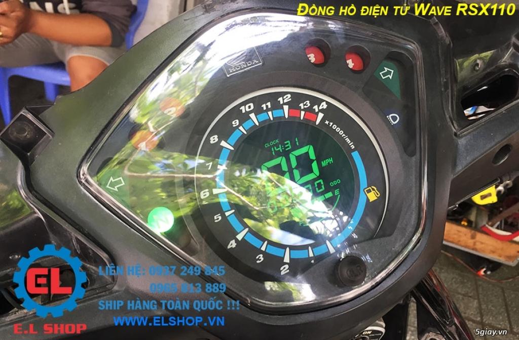 E.L SHOP - Đồng hồ điện tử cho xe máy, Koso, RX2N,... - 31