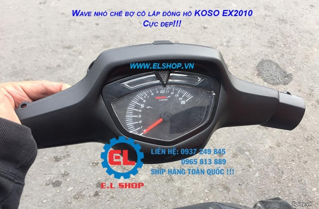 E.L SHOP - Đồng hồ điện tử cho xe máy, Koso, RX2N,... - 22