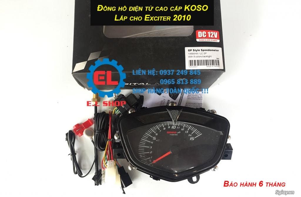 E.L SHOP - Đồng hồ điện tử cho xe máy, Koso, RX2N,... - 15