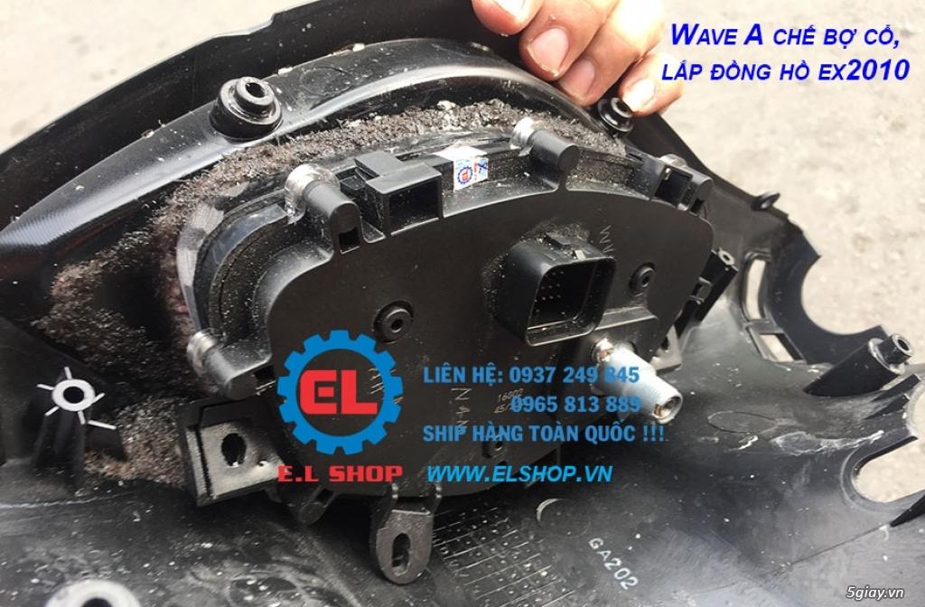 E.L SHOP - Đồng hồ điện tử cho xe máy, Koso, RX2N,... - 21
