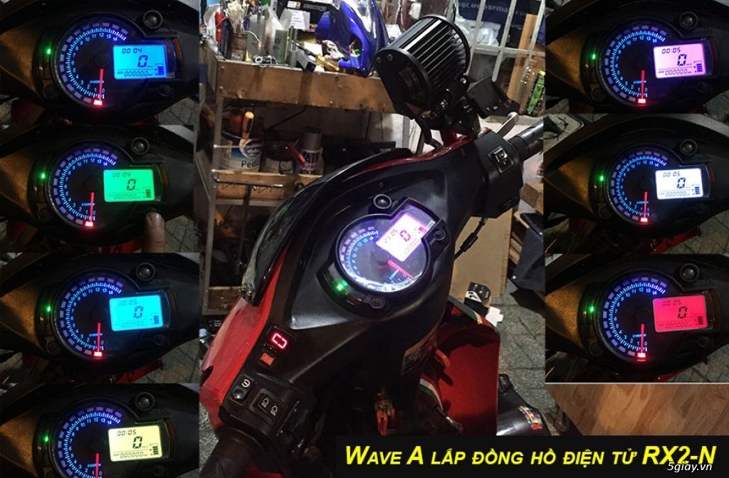 E.L SHOP - Đồng hồ điện tử cho xe máy, Koso, RX2N,... - 12