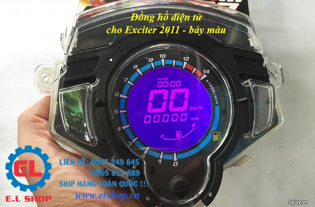 E.L SHOP - Đồng hồ điện tử cho xe máy, Koso, RX2N,... - 25