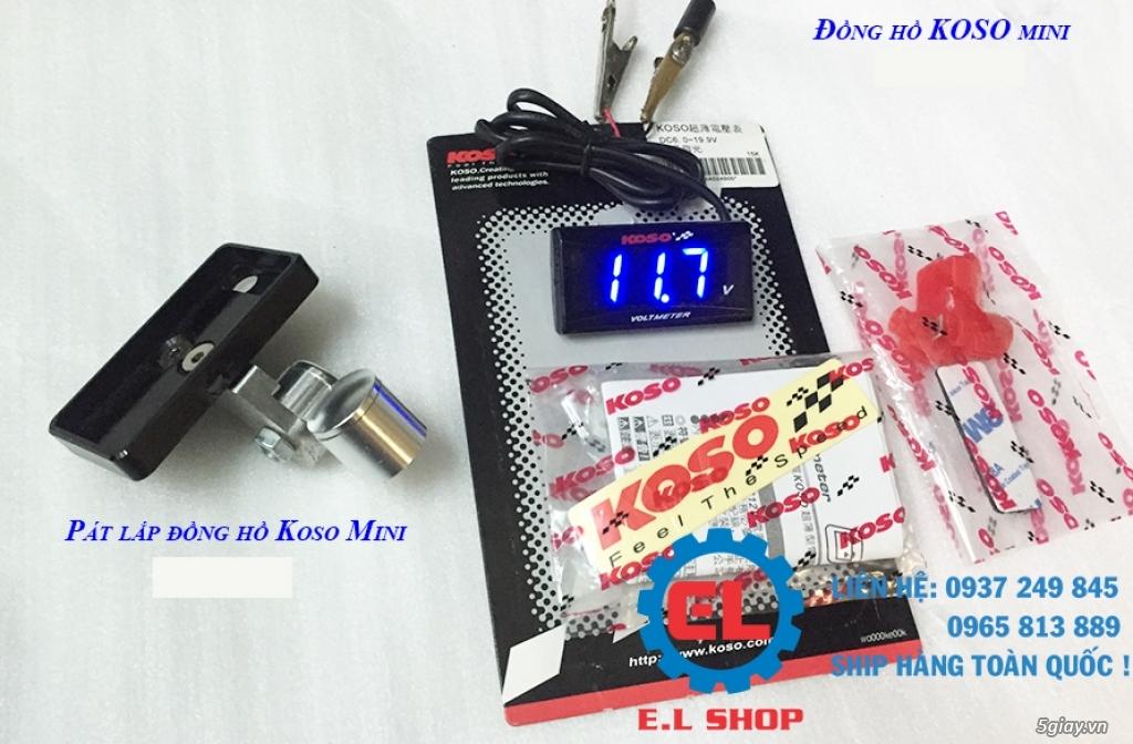 E.L SHOP - Đồng hồ điện tử cho xe máy, Koso, RX2N,... - 38