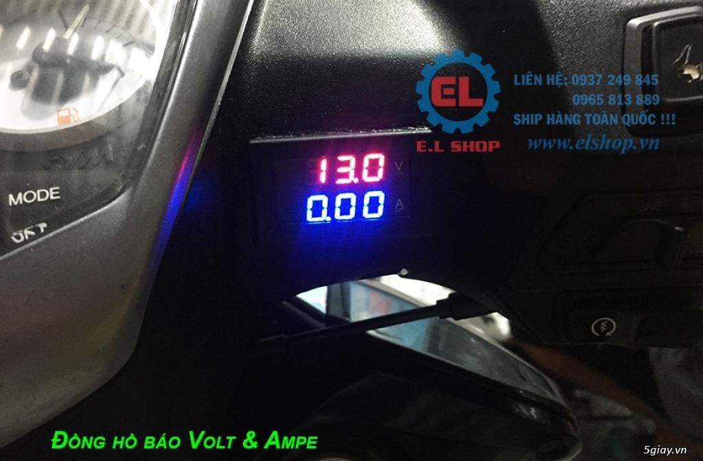 E.L SHOP - Đồng hồ điện tử cho xe máy, Koso, RX2N,... - 48