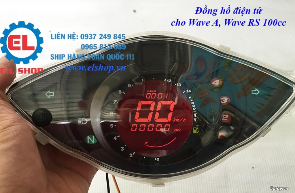 E.L SHOP - Đồng hồ điện tử cho xe máy, Koso, RX2N,... - 33