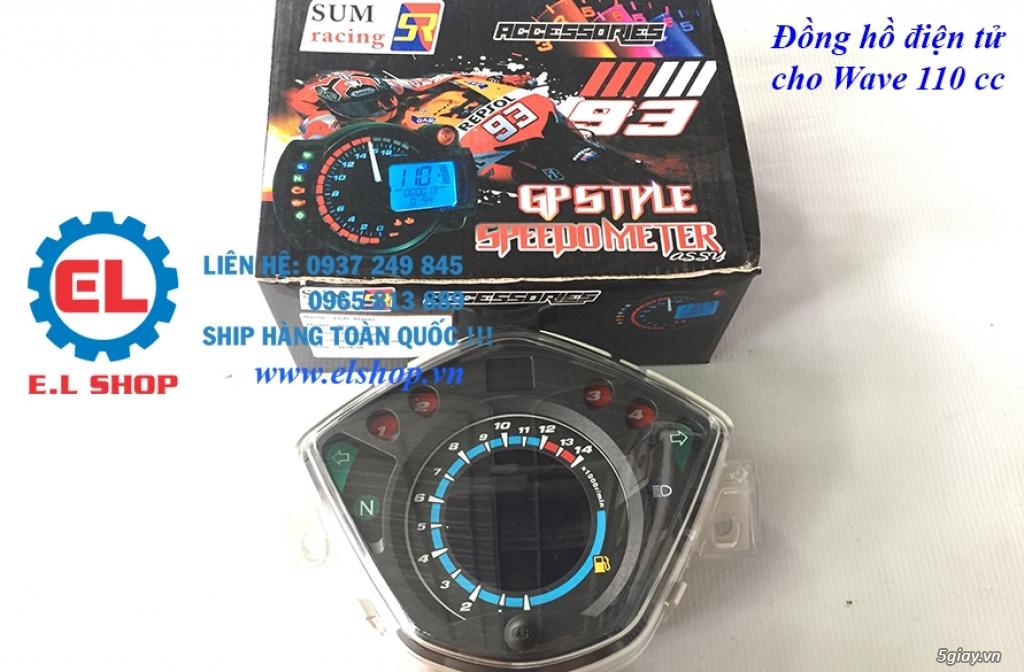E.L SHOP - Đồng hồ điện tử cho xe máy, Koso, RX2N,... - 29