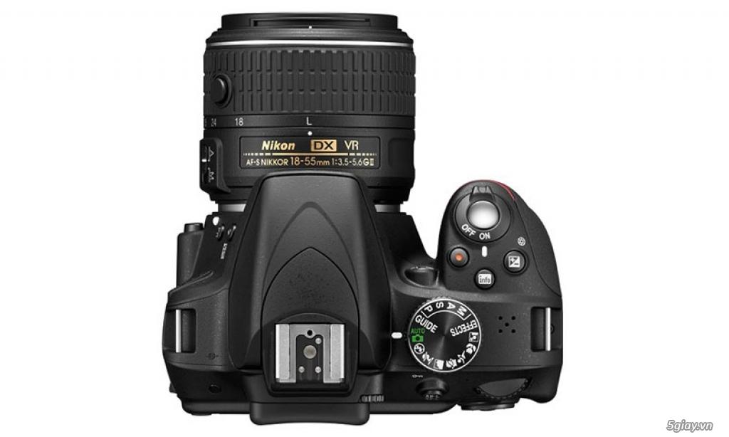 Bán máy ảnh Nikon D3300