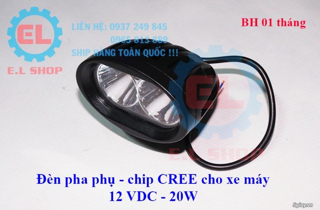 Đèn LED pha phụ cho Mô tô, Ô tô: L4, L4X, L5, L5 NCS, U5, U7, C3, C6.. - 20