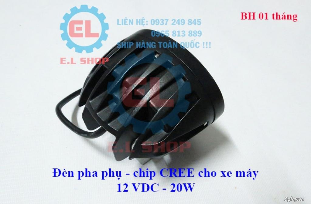 Đèn LED pha phụ cho Mô tô, Ô tô: L4, L4X, L5, L5 NCS, U5, U7, C3, C6.. - 21
