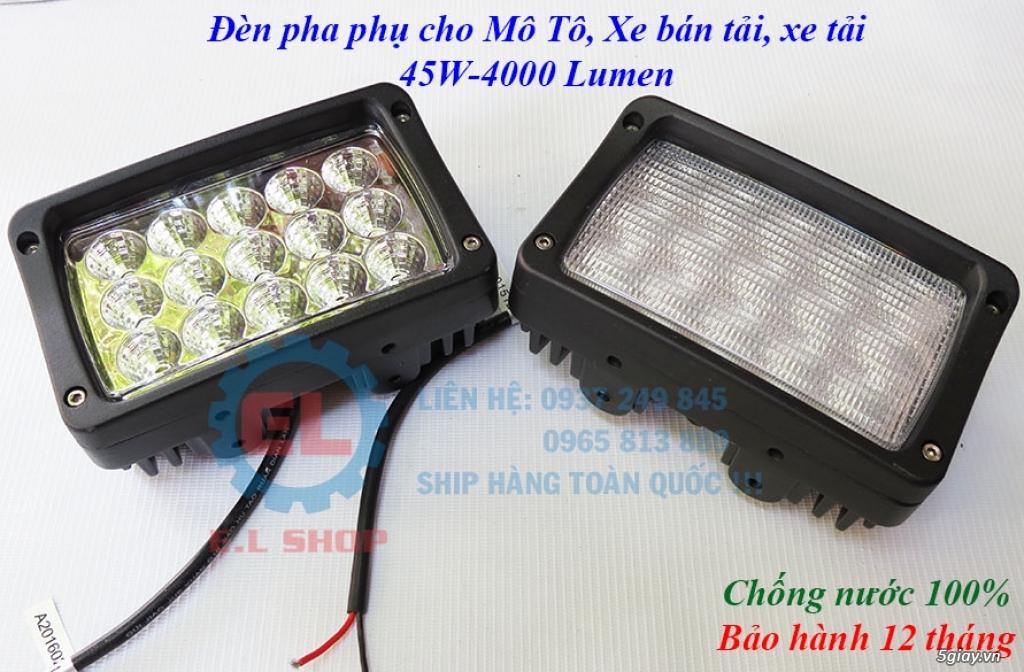Đèn LED pha phụ cho Mô tô, Ô tô: L4, L4X, L5, L5 NCS, U5, U7, C3, C6.. - 28