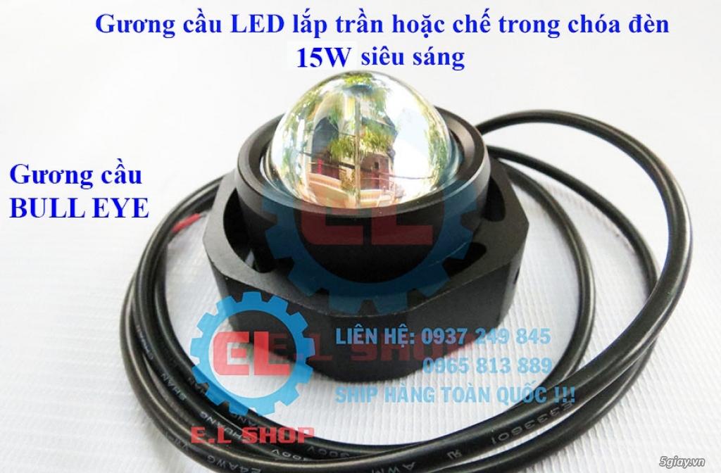Đèn LED pha phụ cho Mô tô, Ô tô: L4, L4X, L5, L5 NCS, U5, U7, C3, C6.. - 33