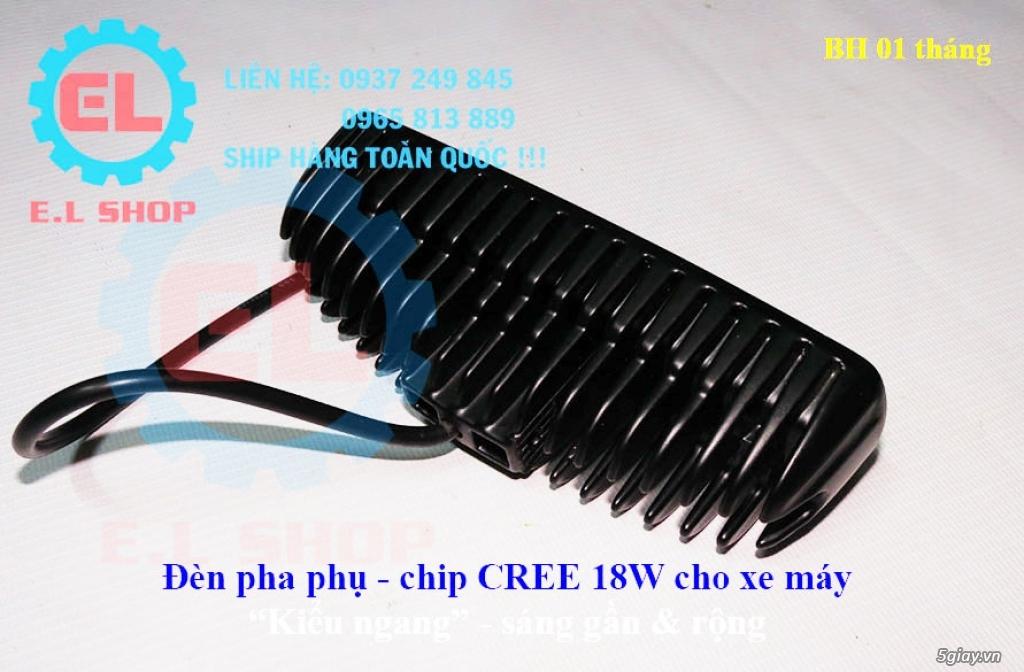 Đèn LED pha phụ cho Mô tô, Ô tô: L4, L4X, L5, L5 NCS, U5, U7, C3, C6.. - 17