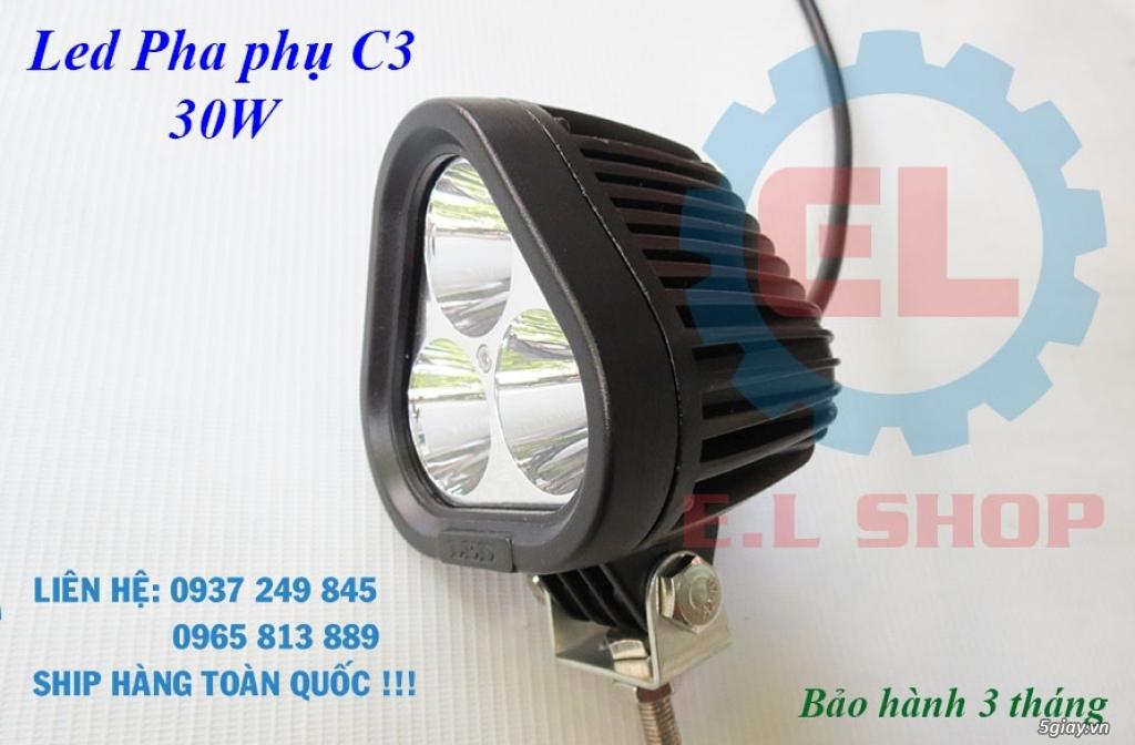 Đèn LED pha phụ cho Mô tô, Ô tô: L4, L4X, L5, L5 NCS, U5, U7, C3, C6.. - 22