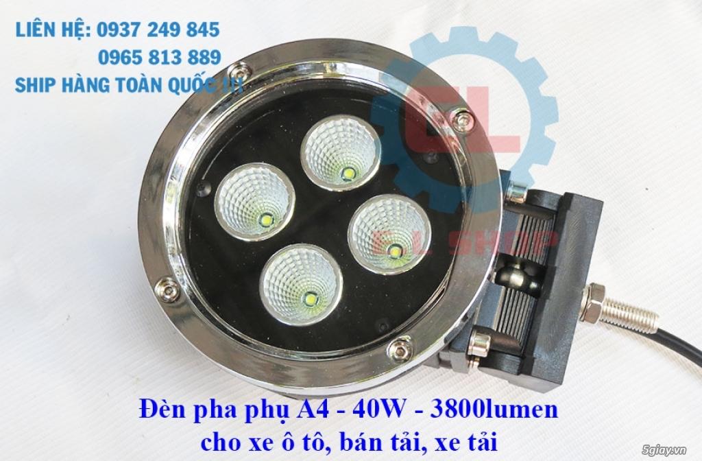 Đèn LED pha phụ cho Mô tô, Ô tô: L4, L4X, L5, L5 NCS, U5, U7, C3, C6.. - 25