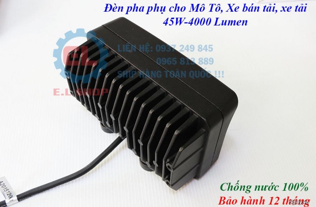 Đèn LED pha phụ cho Mô tô, Ô tô: L4, L4X, L5, L5 NCS, U5, U7, C3, C6.. - 31