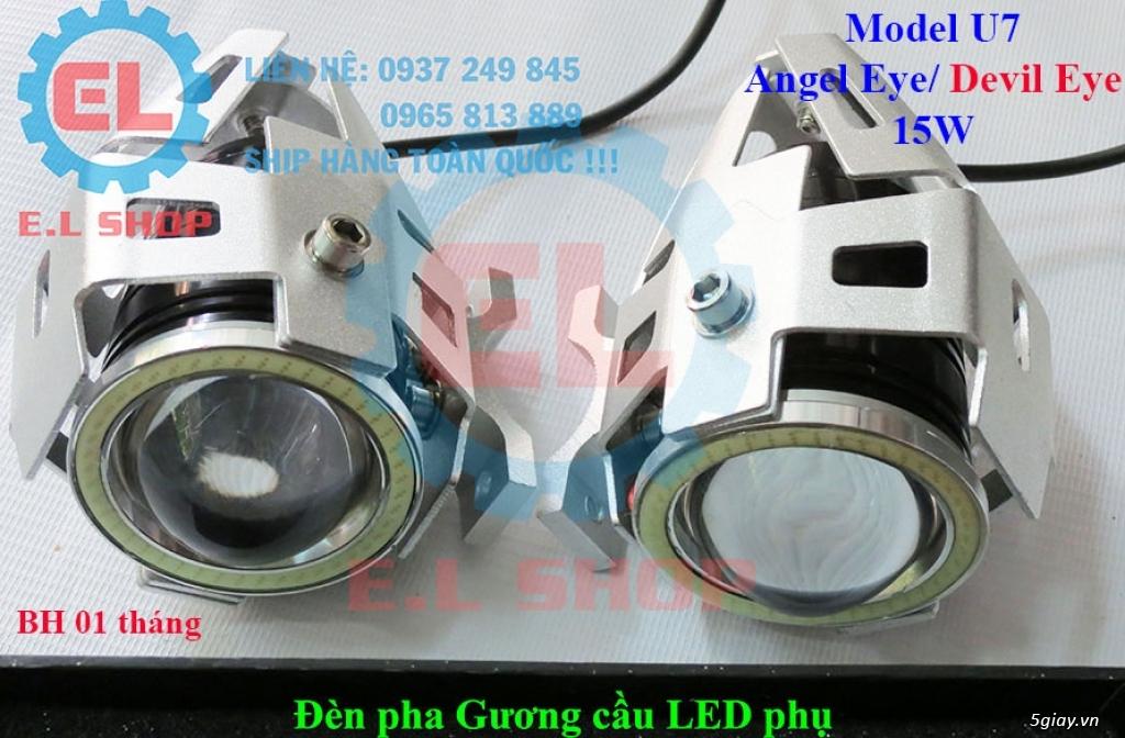 Đèn LED pha phụ cho Mô tô, Ô tô: L4, L4X, L5, L5 NCS, U5, U7, C3, C6.. - 38