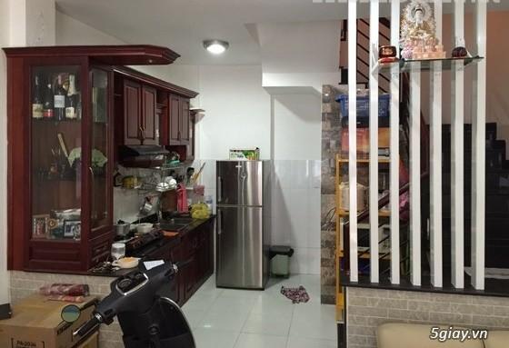 Bán nhà hẻm Hòa Hảo, P4, Quận 10, 4x9m, trệt 3 lầu st mới đẹp