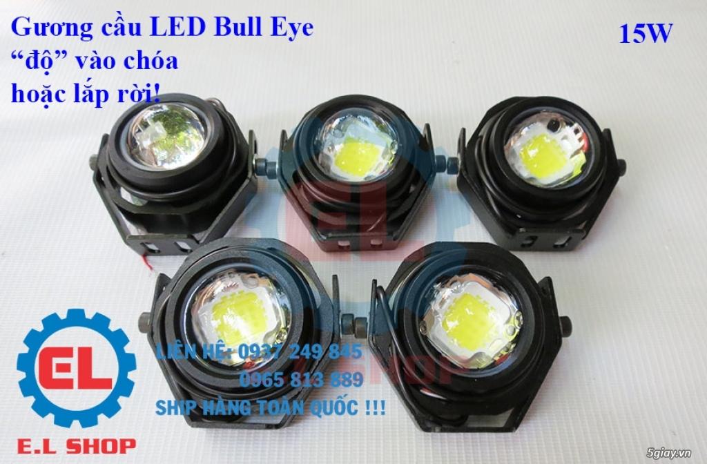 Đèn LED pha phụ cho Mô tô, Ô tô: L4, L4X, L5, L5 NCS, U5, U7, C3, C6.. - 34