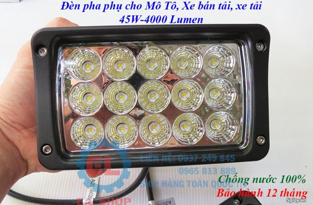 Đèn LED pha phụ cho Mô tô, Ô tô: L4, L4X, L5, L5 NCS, U5, U7, C3, C6.. - 30