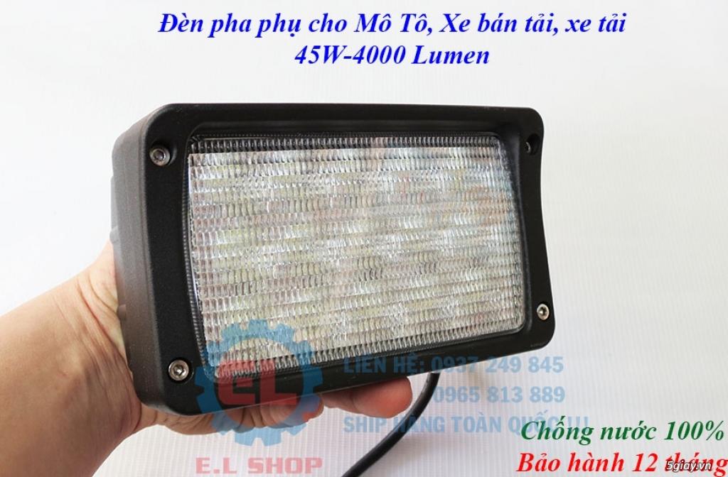 Đèn LED pha phụ cho Mô tô, Ô tô: L4, L4X, L5, L5 NCS, U5, U7, C3, C6.. - 29
