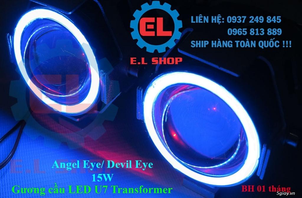 Đèn LED pha phụ cho Mô tô, Ô tô: L4, L4X, L5, L5 NCS, U5, U7, C3, C6.. - 40