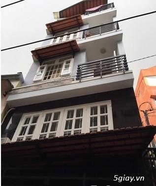 Bán nhà hẻm Hòa Hảo, P4, Quận 10, 4x9m, trệt 3 lầu st mới đẹp - 1