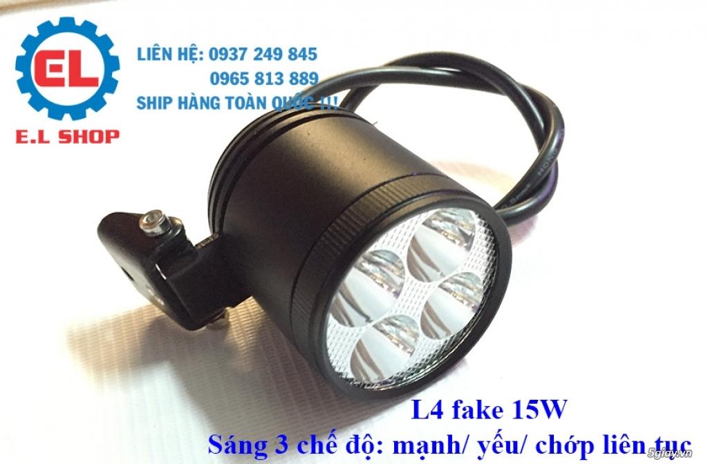 Đèn LED pha phụ cho Mô tô, Ô tô: L4, L4X, L5, L5 NCS, U5, U7, C3, C6.. - 5