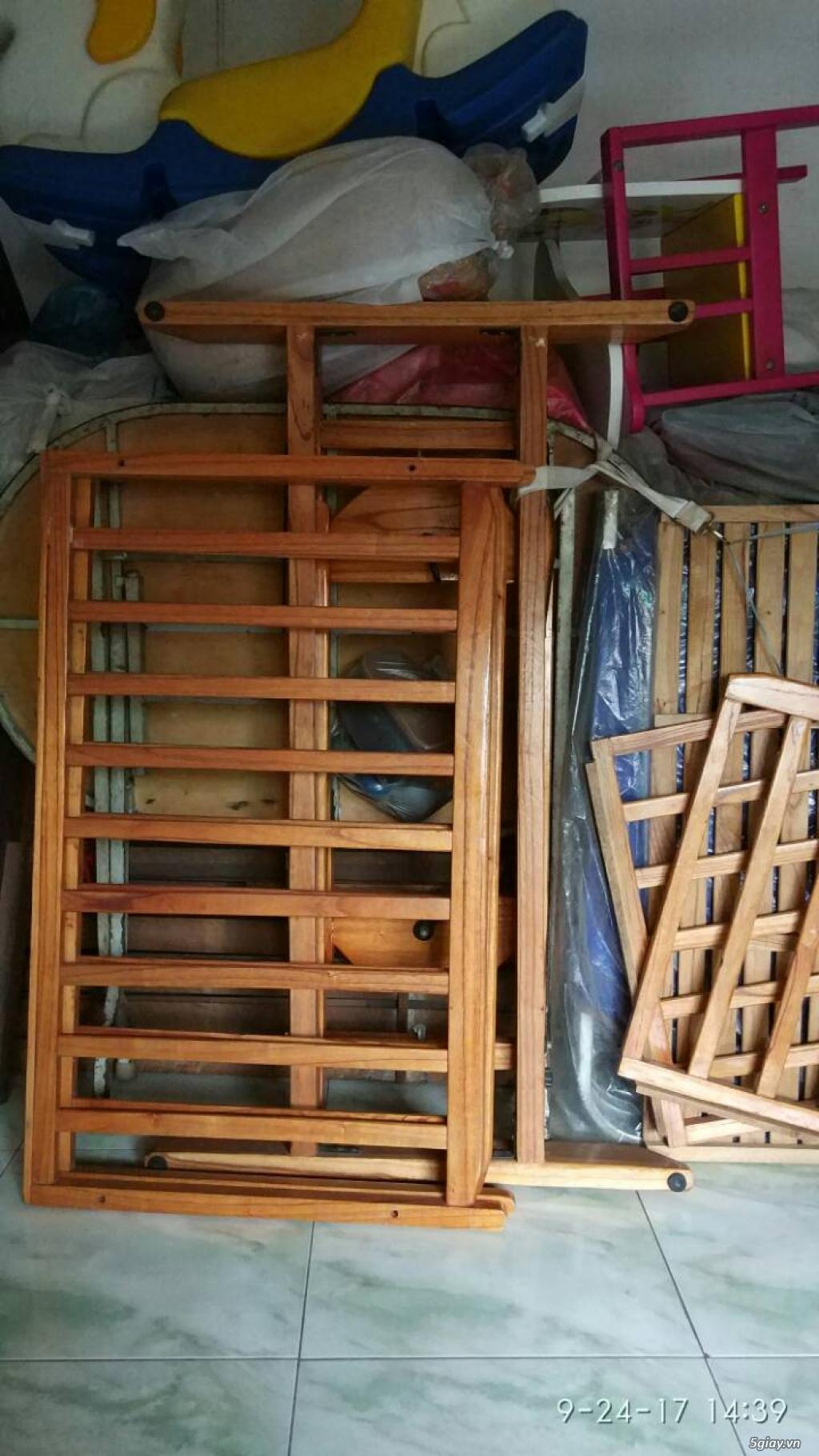 Thanh lý nôi gỗ đại 2 tầng tự động - 3