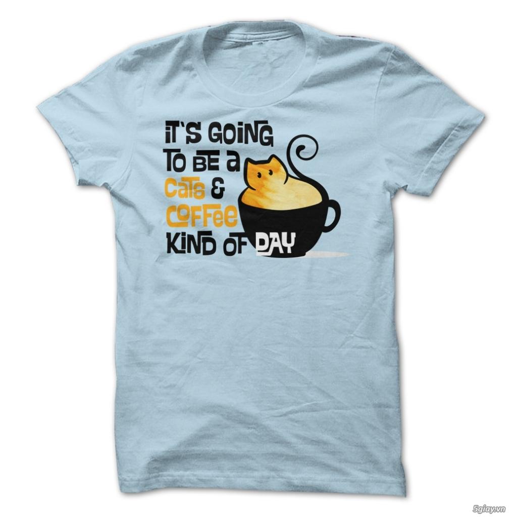 Chuyên phân phối Áo Thun Mèo Kute - Thiết Kế Đẹp Mắt Cho Người Yêu Mèo