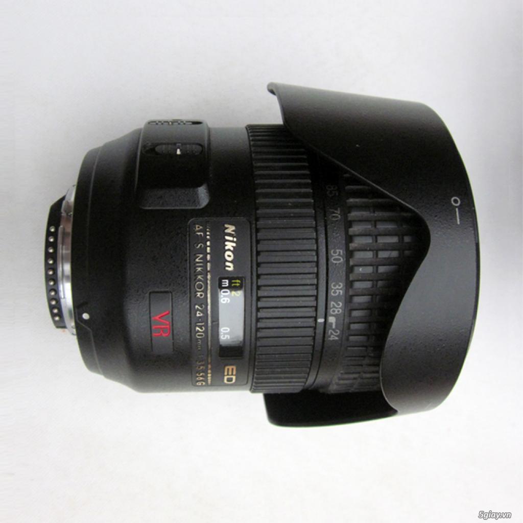 Bán Nikon D40 và lens 24-120 AFS - VR - 2