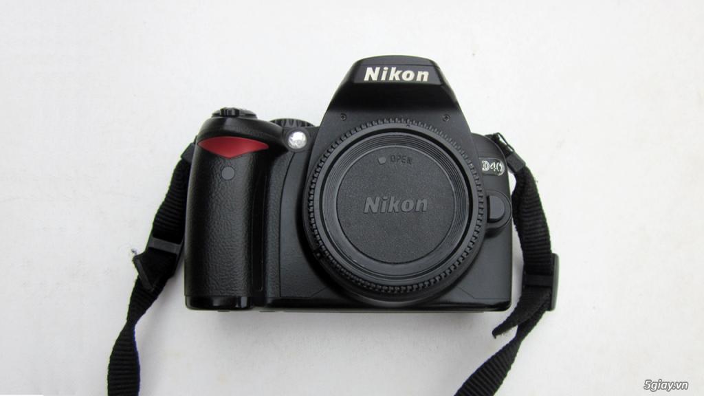 Bán Nikon D40 và lens 24-120 AFS - VR