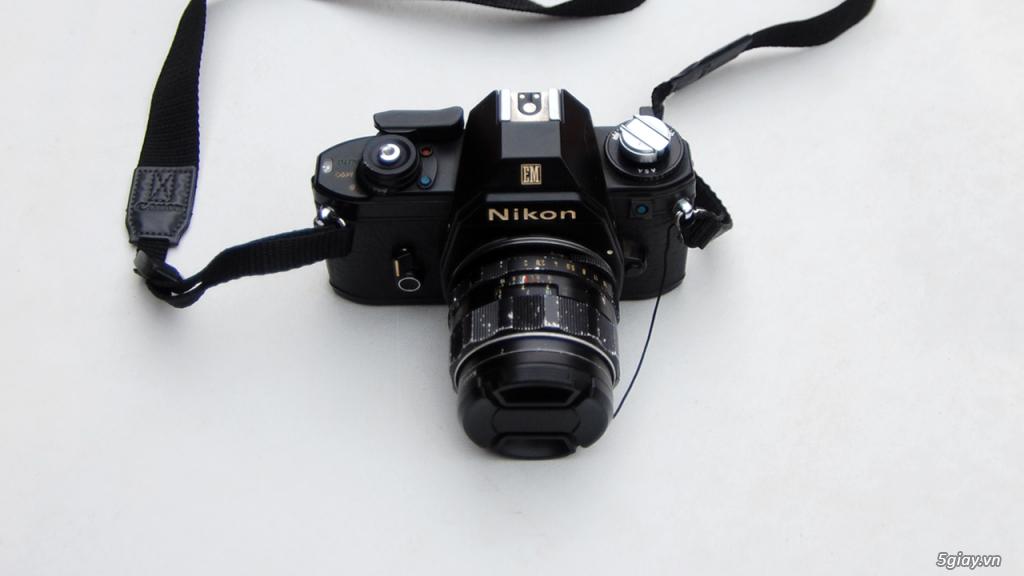 Thách cưới Nikon EM & lens Super Takumar 55 1.8 - 2