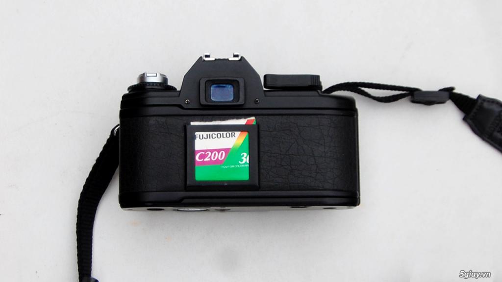 Thách cưới Nikon EM & lens Super Takumar 55 1.8 - 3