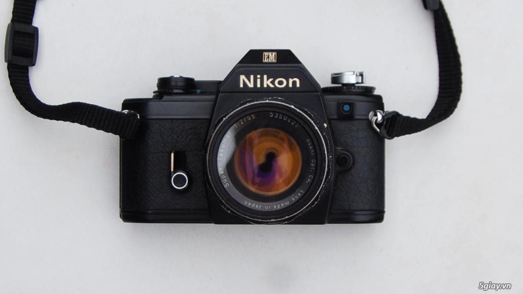 Thách cưới Nikon EM & lens Super Takumar 55 1.8 - 1