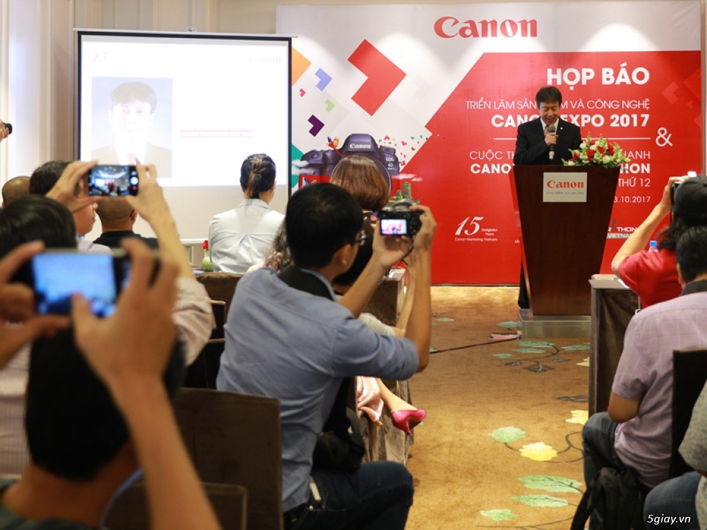 Sắp diễn ra triển lãm Canon EXPO ngày 26/10 tại SVĐ Hoa Lư - 207351