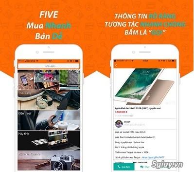 Ứng dụng mua bán Online nhanh chóng Five.vn - 208008