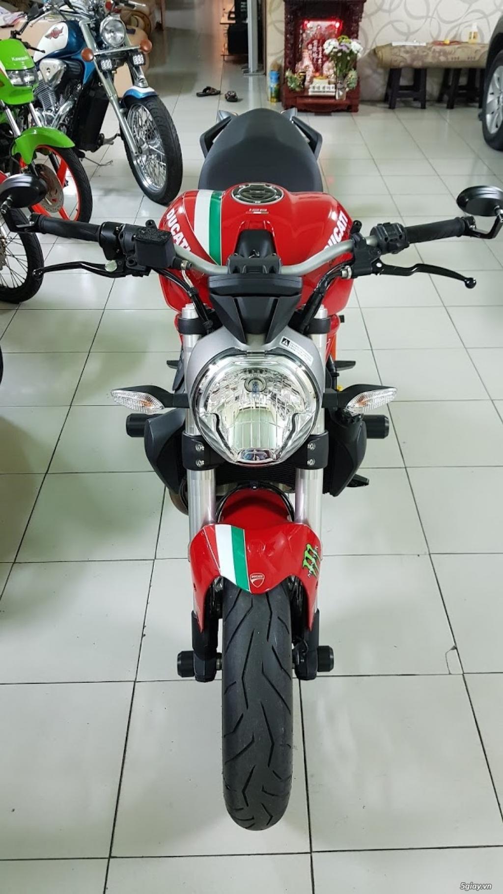 Ban Ducati Monster 821 ABS thang 52017 chinh hang Saigon so VIP - 6