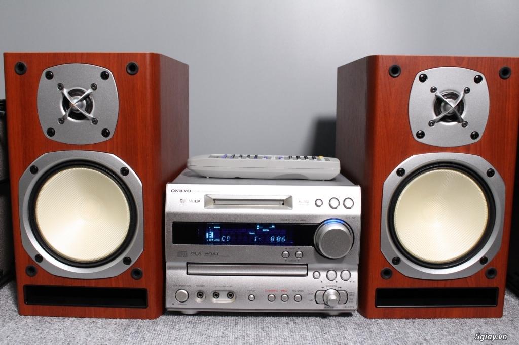 Đầu máy nghe nhạc MINI Nhật đủ các hiệu: Denon, Onkyo, Pioneer, Sony, Sansui, Kenwood - 49