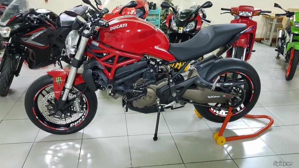 Ban Ducati Monster 821 ABS thang 52017 chinh hang Saigon so VIP - 2