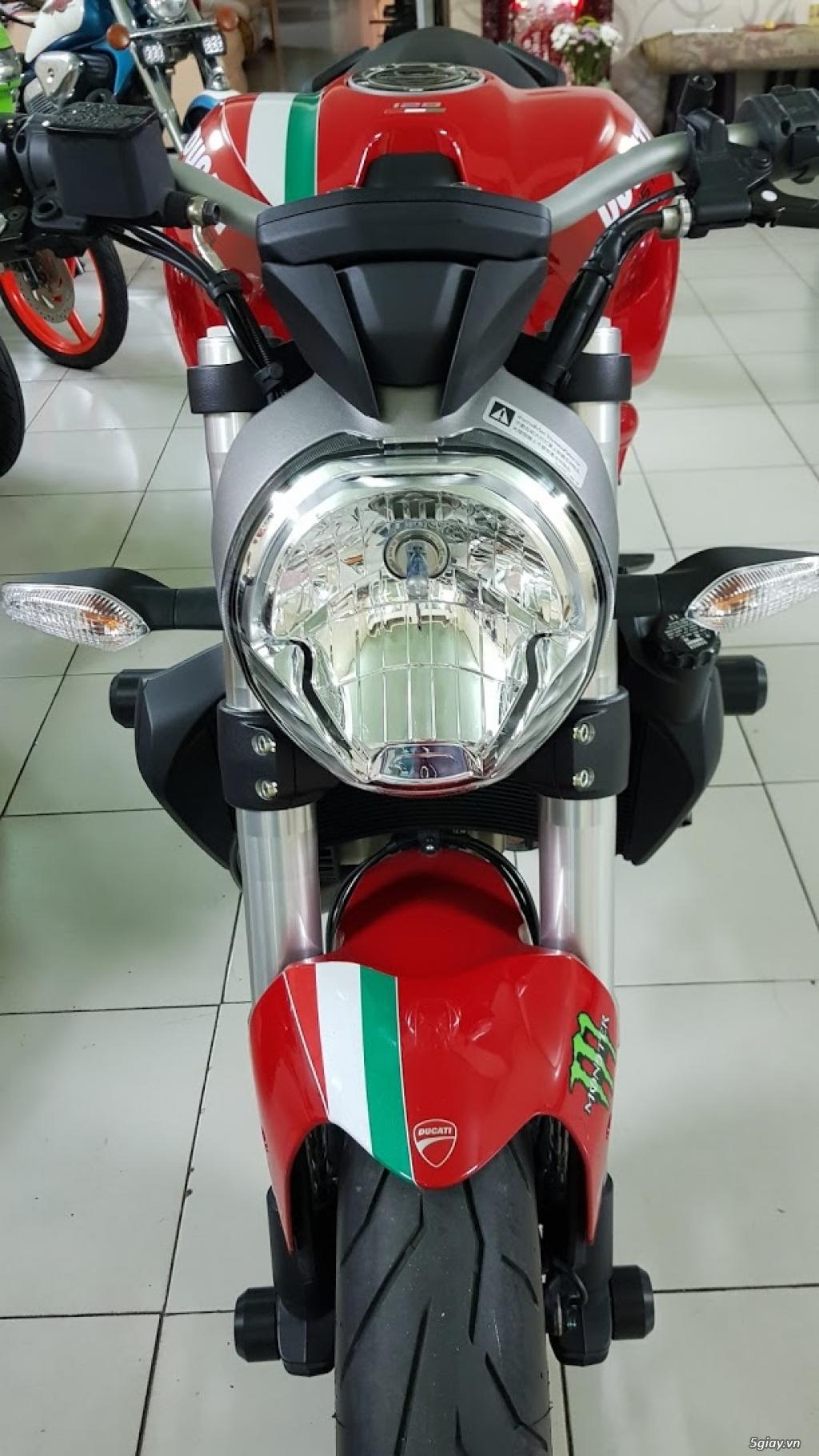 Ban Ducati Monster 821 ABS thang 52017 chinh hang Saigon so VIP - 17