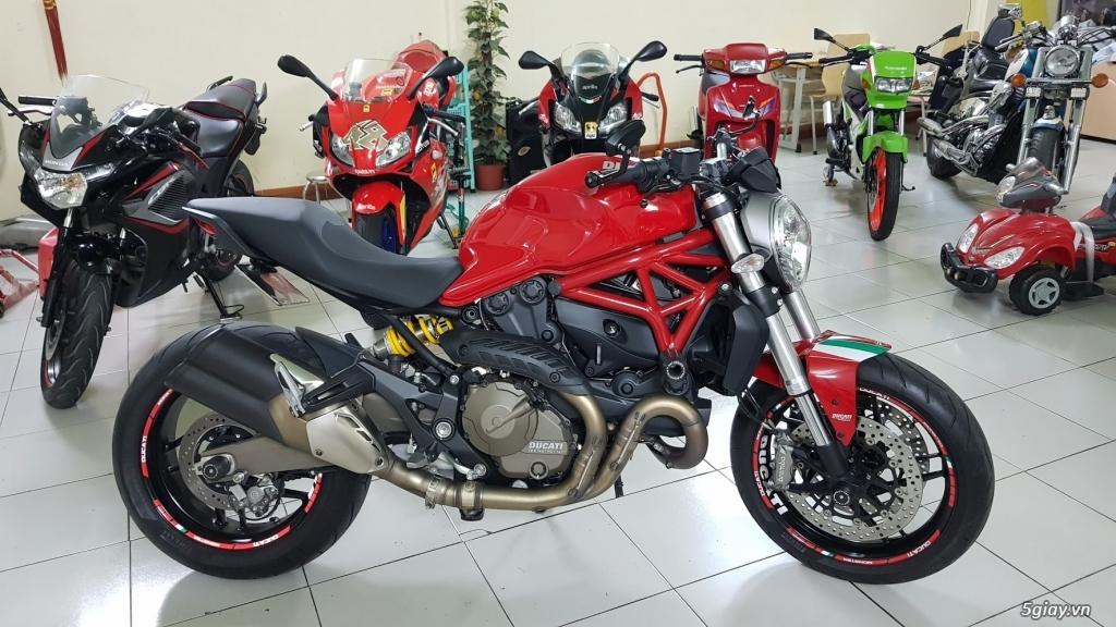 Ban Ducati Monster 821 ABS thang 52017 chinh hang Saigon so VIP