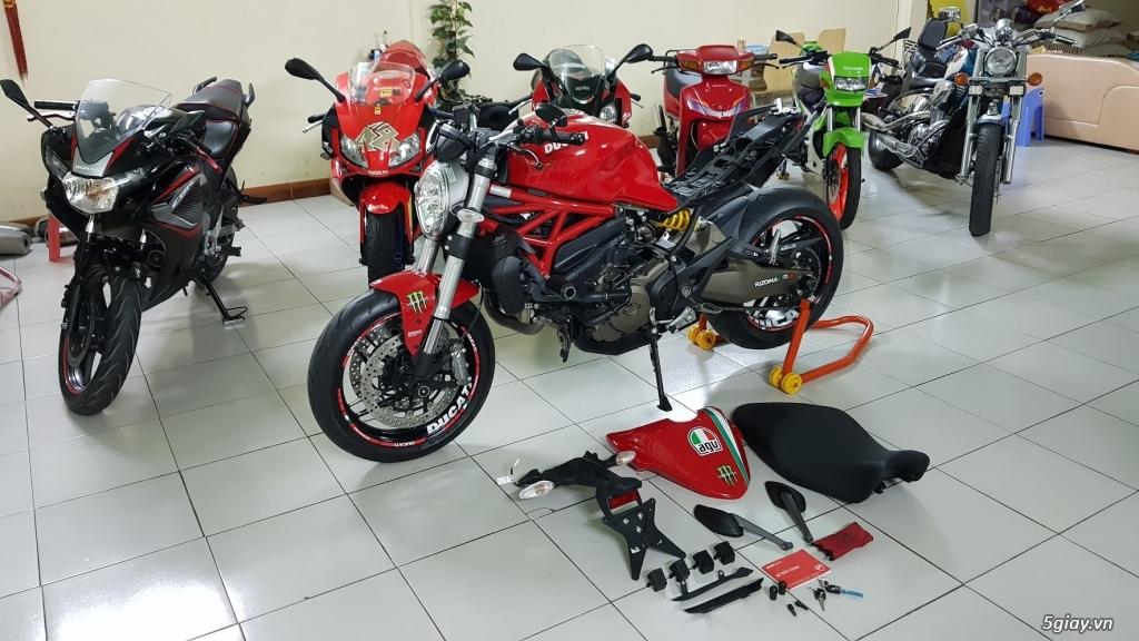 Ban Ducati Monster 821 ABS thang 52017 chinh hang Saigon so VIP - 7