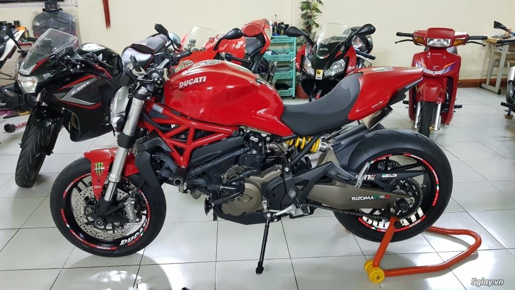 Ban Ducati Monster 821 ABS thang 52017 chinh hang Saigon so VIP - 13