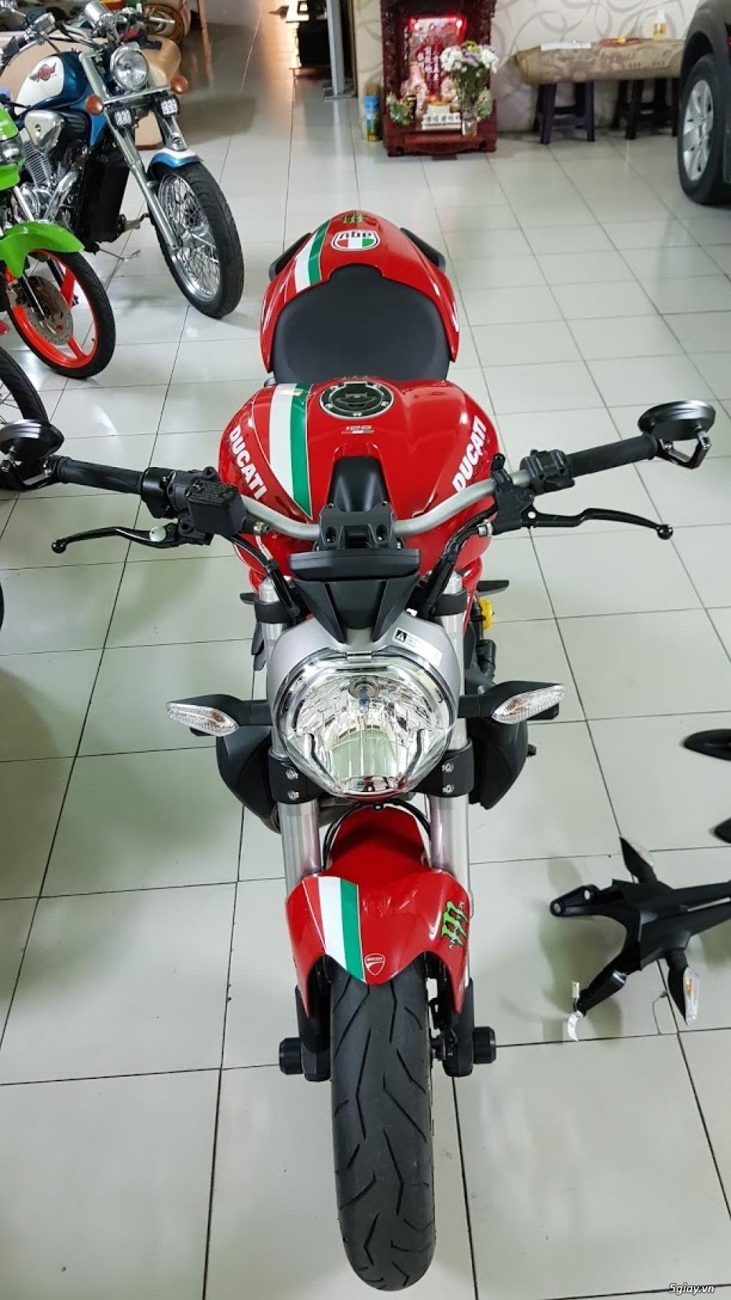 Ban Ducati Monster 821 ABS thang 52017 chinh hang Saigon so VIP - 15