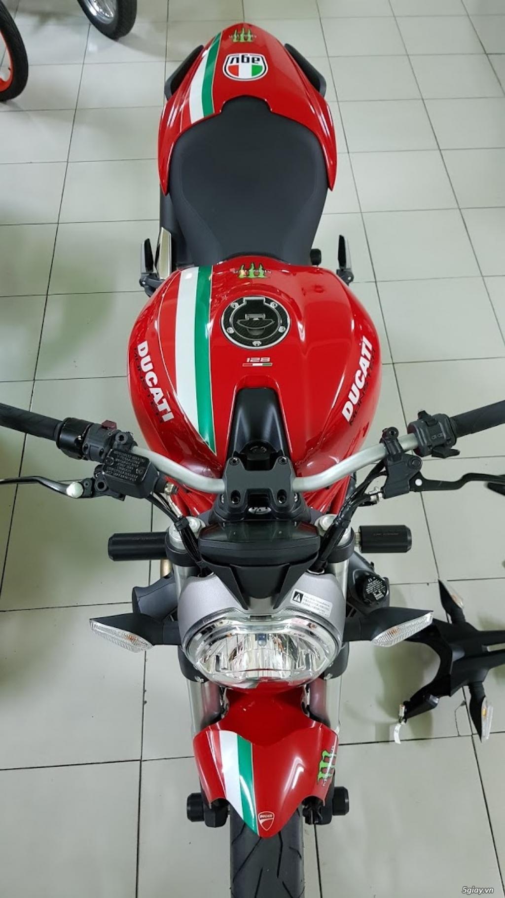 Ban Ducati Monster 821 ABS thang 52017 chinh hang Saigon so VIP - 16